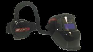 Сварочная маска с системой фильтрации воздуха Муссон 200