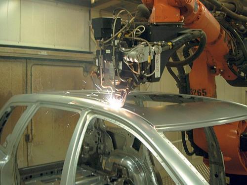 Лазерная сварка кузова автомобиля