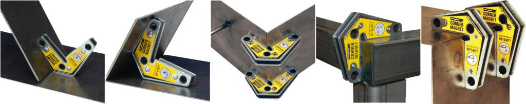 При использовании угольников между свариваемыми частями конструкции сварщик получает свободу действий