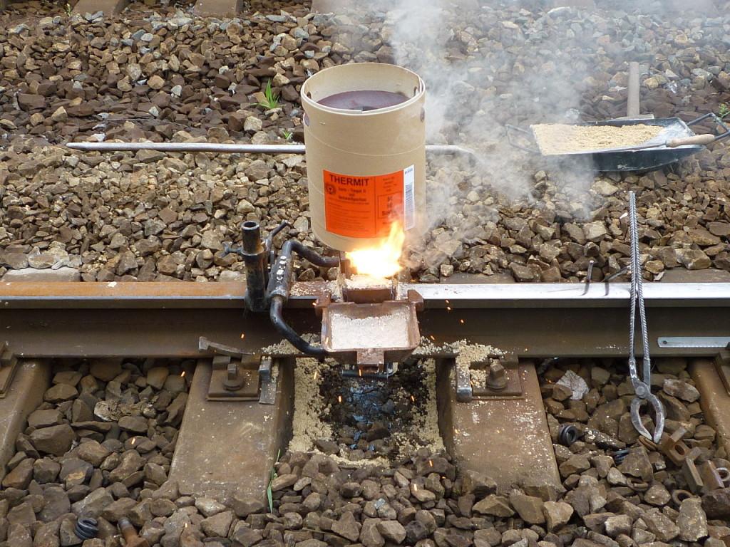 Оборудование для термитной сварки
