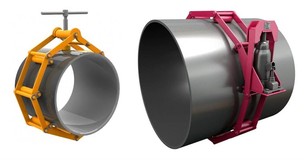 Многозвенный центратор для труб