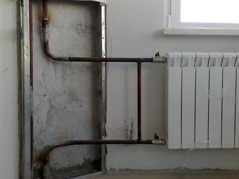 Шаровые краны устанавливаются в обязательном порядке для отключения радиатора в аварийных ситуациях