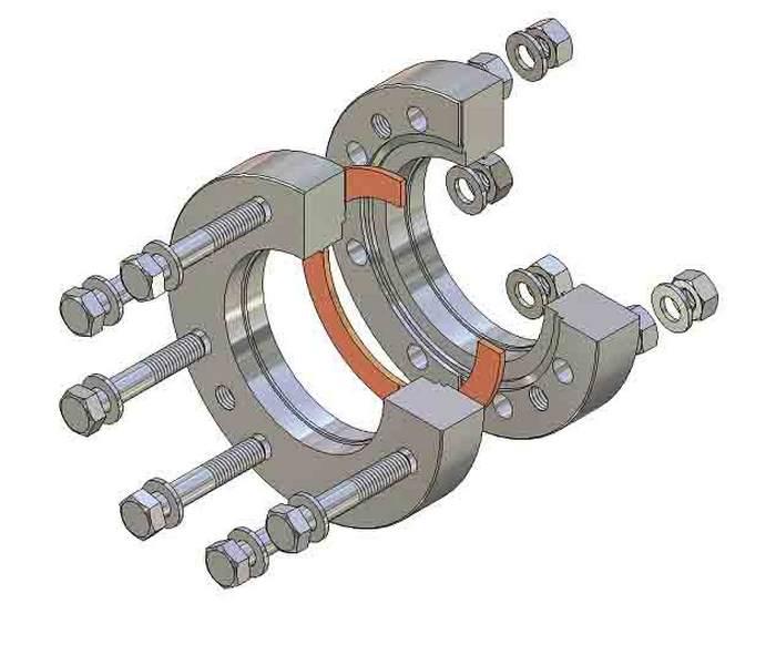 Фланцевое соединение трубопроводов фото