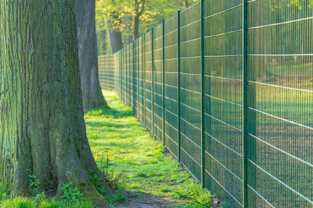 Забор сварной сетчатый с ПВХ покрытием