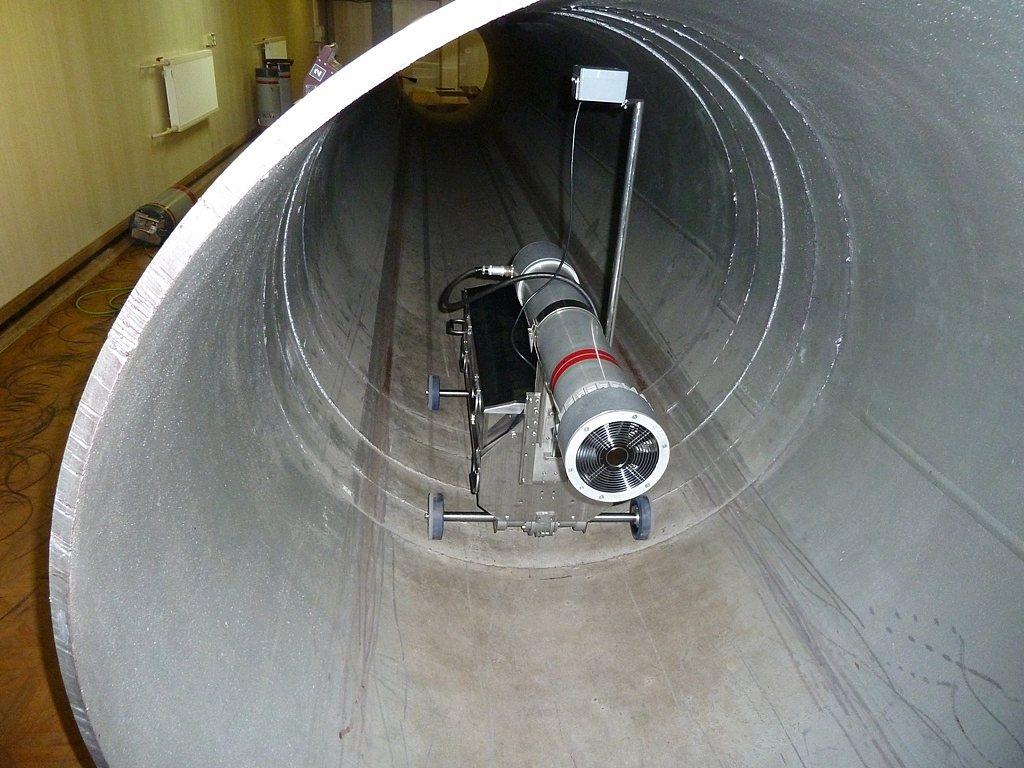 Радиографический контроль сварных соединений трубопроводов