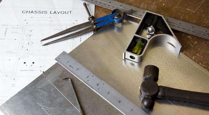 Этап разметки проводится вручную или с помощью специальных устройств