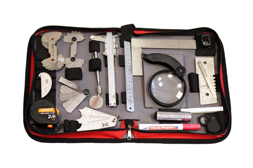 Универсальный комплект визуально-измерительного инструмента