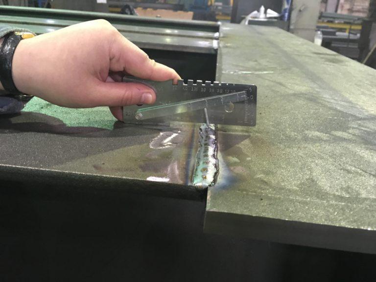 Визуальный и измерительный контроль сварных соединений