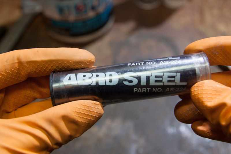 Холодная сварка Abro Steel