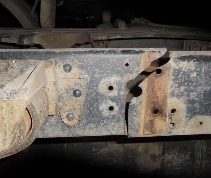 Ремонт и сварка рамы грузового автомобиля своими руками