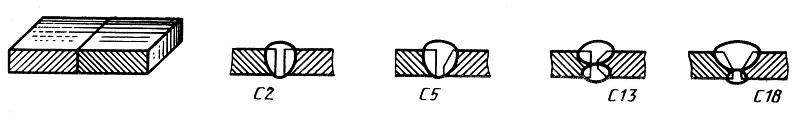 Способы выполнения стыковых соединений