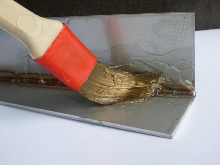 Химическая обработка защищает металл от окислов и ржавчины