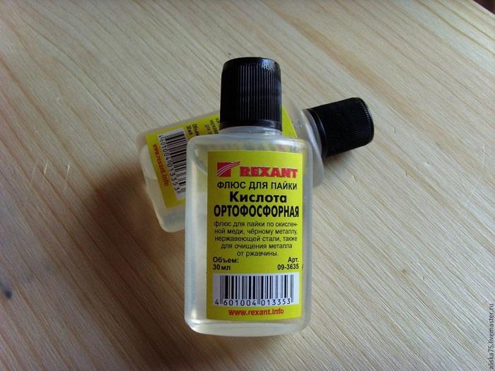Ортофосфорная кислота для пайки